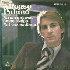 Discos de vinilo: ALFONSO PAHINO SINGLE SELLO COLUMBIA AÑO 1976. Lote 52392685