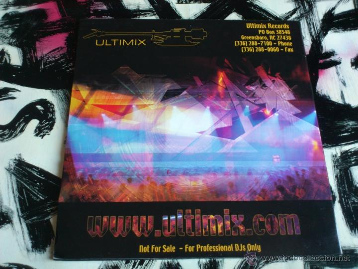 Discos de vinilo: ULTIMIX 117 - JEFF RICHARDS TOP TRACKS - SEPTEMBER 2005 - DOBLE VINILO - Foto 2 - 52392785