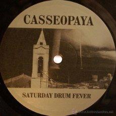 Discos de vinilo: CASSEOPAYA - SATURDAY DRUM FEVER - MAXI - CARPETA GENERICA. Lote 52393758