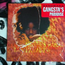 Discos de vinilo: SANGWARA - GANGSTA´S PARADISE - MAXI - VINILO - MAX - 1996. Lote 52394199