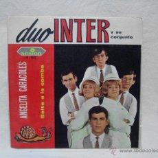 Discos de vinilo: DUO INTER Y SU CONJUNTO. ANGELITA CARACOLES. SALTA LA COMBA. SESION 1967. Lote 52394734