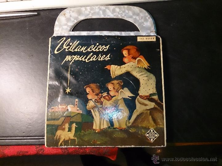 VILLANCICOS POPULARES SOFIA NOEL .TELEFUNKEN. DIRECCION E. COFINER. AÑO 1958 (Música - Discos - Singles Vinilo - Música Infantil)