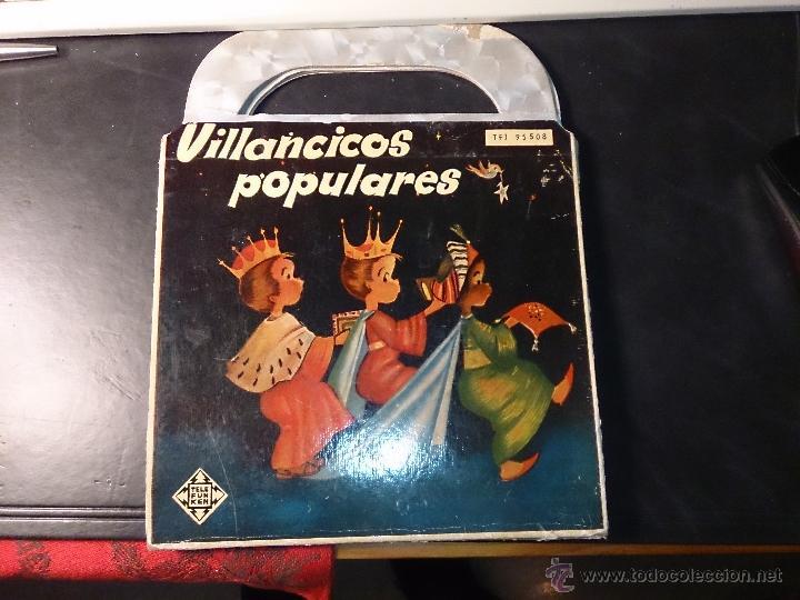 Discos de vinilo: VILLANCICOS POPULARES SOFIA NOEL .TELEFUNKEN. DIRECCION E. COFINER. año 1958 - Foto 2 - 52395921