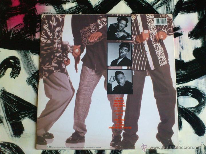 Discos de vinilo: THE BLACK FLAMES - DANCE WITH ME - LP - VINILO - CBS - 1990 - Foto 2 - 52398189