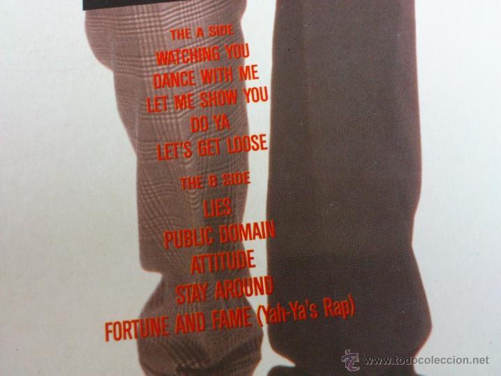 Discos de vinilo: THE BLACK FLAMES - DANCE WITH ME - LP - VINILO - CBS - 1990 - Foto 3 - 52398189