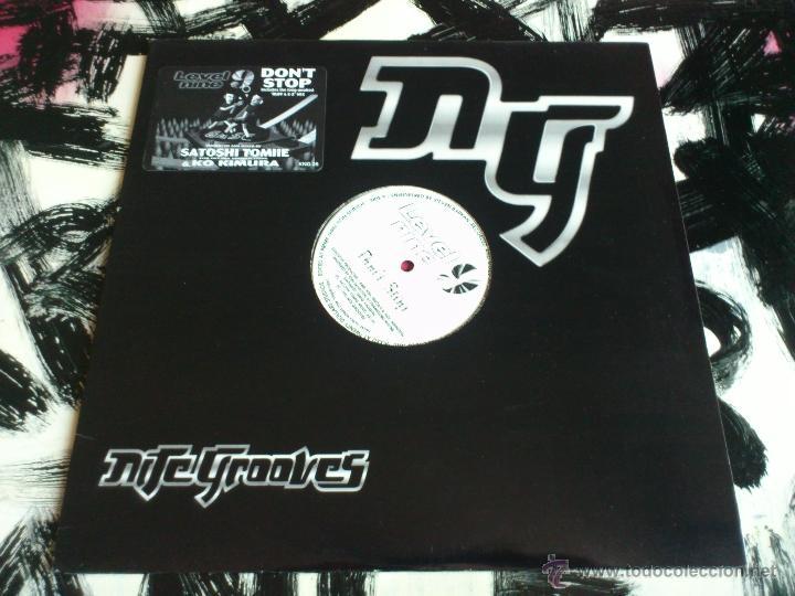 SATOSHI TOMIIE - KO KIMURA - DON´T STOP - MAXI - VINILO - NITE GROOVES - 1995 (Música - Discos de Vinilo - Maxi Singles - Techno, Trance y House)
