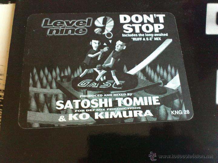Discos de vinilo: SATOSHI TOMIIE - KO KIMURA - DON´T STOP - MAXI - VINILO - NITE GROOVES - 1995 - Foto 3 - 52398333