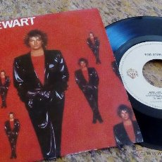 Discos de vinilo: ROD STEWART - BABY JANE - SINGLE 1983 (WEA RECORDS) *EXCELENTE*. Lote 37106415