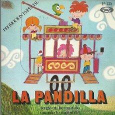 Discos de vinilo: LA PANDILLA SINGLE SELLO MOVIEPLAY AÑO 1971 EDITADO EN ESPAÑA PROMOCIONAL. Lote 52404914