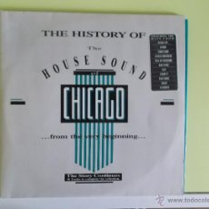 Discos de vinilo: THE HISTORY OF THE HOUSE SOUND OF CHICAGO FROM THE VERY BEGINNING 30 TRACKS TO COMPLETE THE CO. Lote 52409152