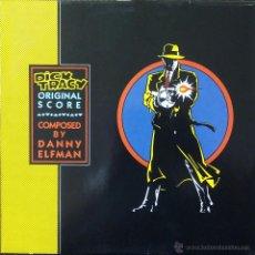 Discos de vinilo: BSO, DICK TRACY (WEA) LP ALEMANIA - ORIGINAL SCORE - DANNY ELFMAN OST. Lote 52414480
