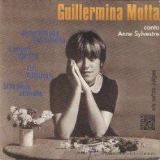Discos de vinilo: EP GUILLERMINA MOTTA CANTA ANNE SYLVESTRE . Lote 54930571