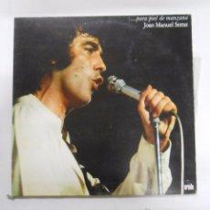 Discos de vinilo: JOAN MANUEL SERRAT. -PARA PIEL DE MANZANA. TDKDA2. Lote 52415325