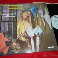 Discos de vinilo: LOS PARAGUAS DE CHERBOURG CHERBOURGO MICHEL LEGRAND BSO OST LP 1988 PHILIPS ESPAÑA. Lote 52421184