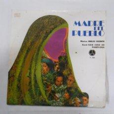 Discos de vinilo: MADRE DEL PUEBLO. CORAL SAN JOSE DE PAMPLONA. LP. EMILIO VICENTE. TDKDA2. Lote 52425558