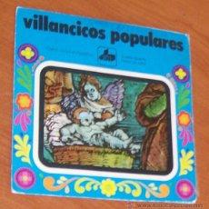 Discos de vinilo: VILLANCICOS POPULARES -SINGLE VINILO 7``- CORRE AL PORTALICO / A ESTA PUERTA LLAMA UN NIÑO. CORO INF. Lote 52427766
