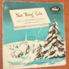 Dischi in vinile: NAT KING COLE -EP VINILO 7``- THE CHRISTMAS SONG/MRS. SANTA CLAUS/FROSTY THE SNOW MAN/LITTLE CHRISTM. Lote 52427832