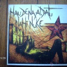 Discos de vinilo: HERTZAINAK - HAU DENA ALDATU NAHI NUKE. Lote 52430978