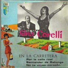 Discos de vinilo: GINA CORELLI EP SELLO SESION AÑO 1967 EDITADO EN ESPAÑA. Lote 52431384