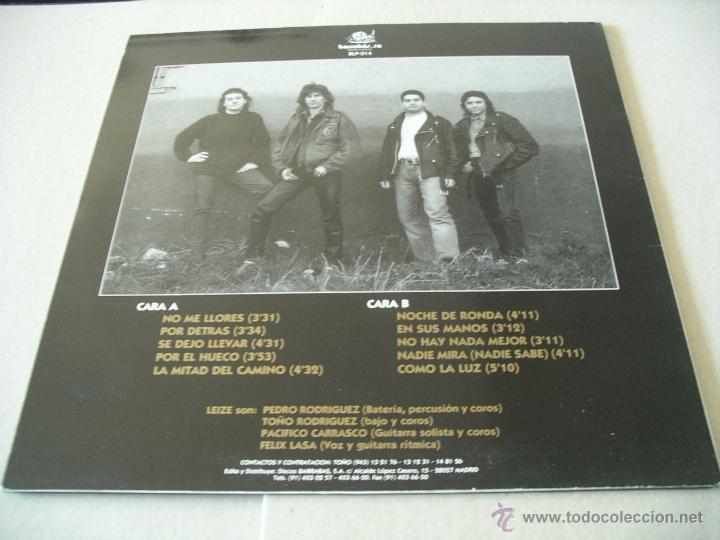 Discos de vinilo: LEIZE LP LOCA PASION BARRABAS ORIGINAL ESPAÑA 1993 + ENCARTE - Foto 2 - 52432589