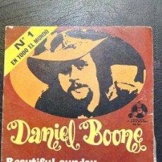 Discos de vinilo: SINGLE DANIEL BOONE - BEAUTIFUL SUNDAY - BELTER 1972.. Lote 52433180