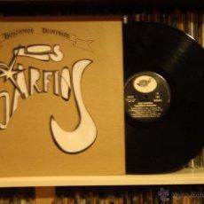 Discos de vinilo: LOS GARFIOS, BUSCAMOS DIVERSION, BALADAS RECORDS, 1994, MADE SPAIN, LP, TROQUELADO, COMO NUEVO. Lote 52439541