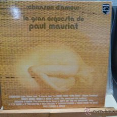 Discos de vinilo: PAUL MOURIAT Y SU GRAN ORQUESTA-CHANSON D,AMOUR. Lote 52444975