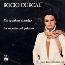 Discos de vinilo: 'ME GUSTAS MUCHO', DE ROCÍO DURCAL. SINGLE VINILO. AÑO 1979.. Lote 52445966