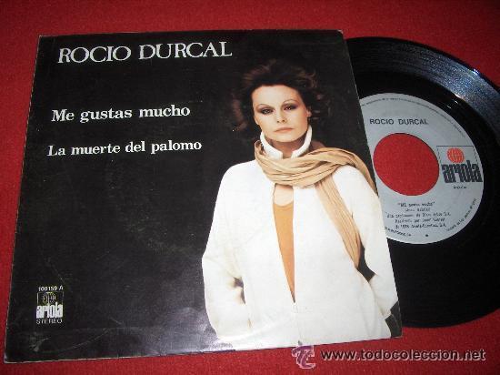 Discos de vinilo: Me gustas mucho, de Rocío Durcal. Single vinilo. Año 1979. - Foto 2 - 52445966