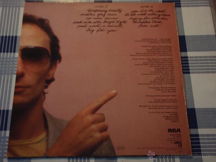 Discos de vinilo: GRAHAM PARKER ( ANOTHER GREY AREA ) 1982 - GERMANY LP33 RCA - Foto 2 - 52447391