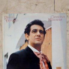 Discos de vinilo: LP PLÁCIDO DOMINGO - CANCIONES MEXICANAS - ADORO - UN VIEJO AMOR........ - CBS 1982.. Lote 52448868