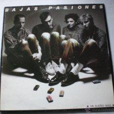 Discos de vinilo: BAJAS PASIONES- UN SUEÑO MAS. MOVIDA MINI LPS. DE 5 TEMAS- 1º DISCO DEL GRUPO. NUEVO. Lote 210628683