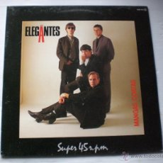 Discos de vinilo: LOS ELEGANTES - MANGAS CORTAS, 1984, COMO NUEVO VER MAS INFORMACION. Lote 205556337