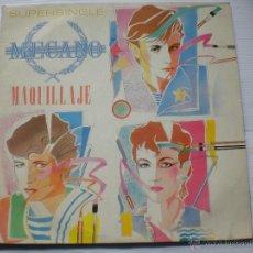 Discos de vinilo: MECANO - MAQUILLAJE MAXI 3 TEMAS 1982. MOVIDA MADRILEÑA. NUEVO. Lote 52460947