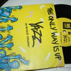 Discos de vinilo: YAZZ AND THE PLASTIC POPULATION - THE ONLY WAY IS UP - BIG LIVE 1985, BRL 4, MINT, CARPETA VG+. Lote 52466966