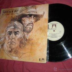 Discos de vinilo: THE MISSOURI BREAK LP BANDA SONORA MUSICA J.WILLIAMS M.BRANDO J.NICHOLSON 1976 SPAIN. Lote 52469287