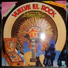 Discos de vinilo: VUELVE EL ROCK... NUEVA OLA VOL.1 SLEEPY LA BEEF, TEQUILA, CRAZY CAVAN, BURNING, ROBERT GORDON..... Lote 52470568