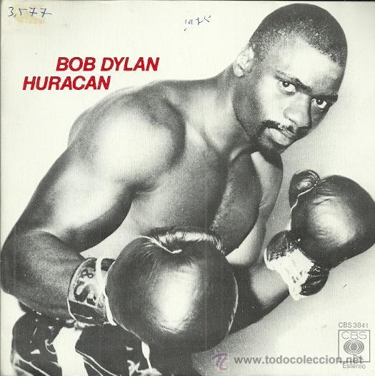 BOB DYLAN EP SELLO CBS AÑO1973 EDITADO EN ESPAÑA CARA B: HURACAN (Música - Discos - Singles Vinilo - Pop - Rock - Extranjero de los 70)