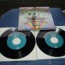 Discos de vinilo: THE BEATLES EP DOBLE MAGICAL MISTERY TOUR MEGARARO AZUL CLARO SPAIN MINT-. Lote 52476674