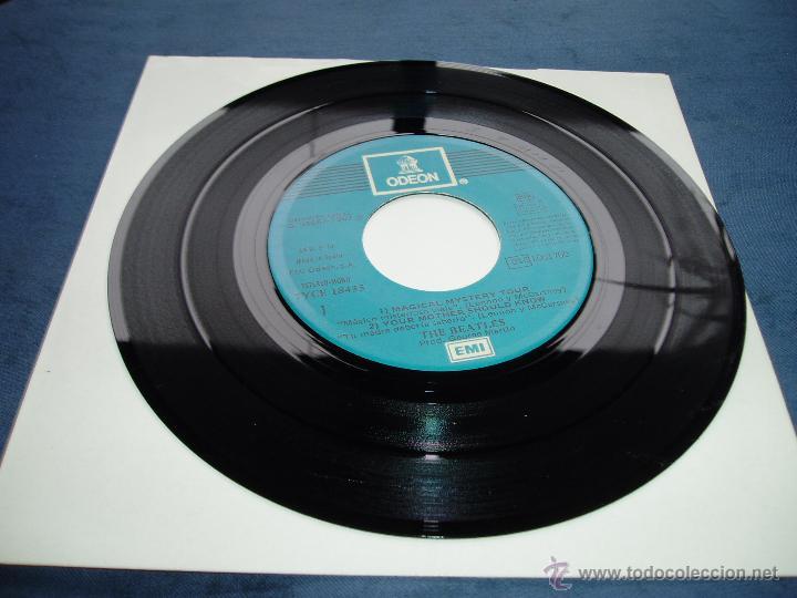 Discos de vinilo: THE BEATLES EP DOBLE MAGICAL MISTERY TOUR MEGARARO AZUL CLARO SPAIN MINT- - Foto 2 - 52476674