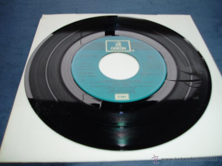 Discos de vinilo: THE BEATLES EP DOBLE MAGICAL MISTERY TOUR MEGARARO AZUL CLARO SPAIN MINT- - Foto 3 - 52476674