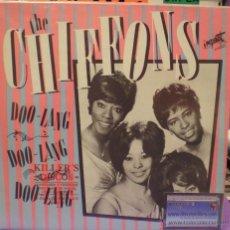 Discos de vinilo: THE CHIFFONS - DOO-LANG, DOO-LANG, DOO-LANG, ALL ORIGINAL HITS - LP RECOPILATORIO DE 1985. Lote 52477377