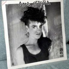 """Discos de vinilo: ANA CURRA (PEGAMOIDES, PARÁLISIS) - MAXI-SINGLE VINILO 12"""" - UNA NOCHE SIN TI + 3 - HISPAVOX 1985. Lote 52478670"""
