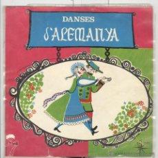 Discos de vinilo: DANSES D'ALEMANYA. NOMÉS LA FUNDA BON ESTAT. Lote 52480940