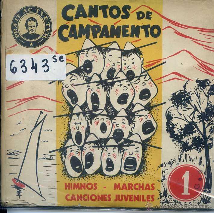 CANTOS DE CAMPAMENTO (PACK CON 4 DISCOS) (Música - Discos de Vinilo - EPs - Otros estilos)