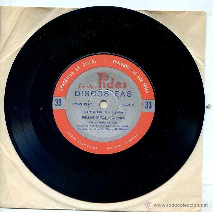 Discos de vinilo: CANTOS DE CAMPAMENTO (PACK CON 4 DISCOS) - Foto 2 - 52481733