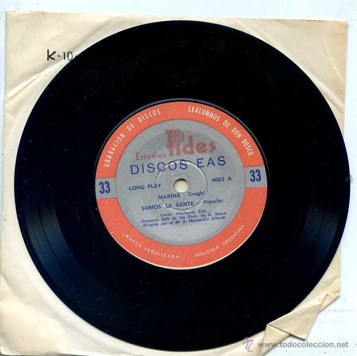 Discos de vinilo: CANTOS DE CAMPAMENTO (PACK CON 4 DISCOS) - Foto 3 - 52481733