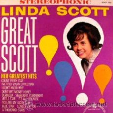 Discos de vinilo: LINDASCOTT - GREAT SCOTT LP. Lote 52482953