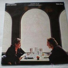 Discos de vinilo: JOHN LENNON - UNFINISHEAD DIALOGUE .HEART PLAY -POLYGRAN SPAIN EDICION PROMO ESPECIAL NUMERADA +INF. Lote 52483926