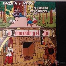 Discos de vinilo: DISCO LA PRINCESA Y EL PAJE ISABELITA Y ANTON O LA CASITA DE TURRON. Lote 52486466